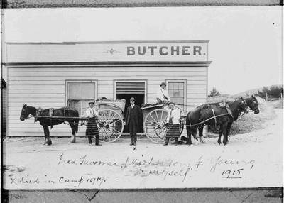 Taverner and Young, Butchers 1915