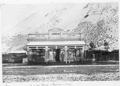 J. Orr & Co's Store. Kurow 1898