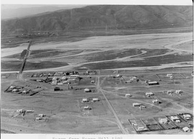 Kurow from Kurow Hill, 1898.