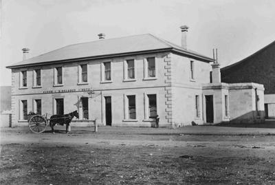 Kurow Hotel 1898, B Delargy Proprietor