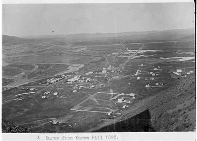 Kurow, from Kurow Hill 1898