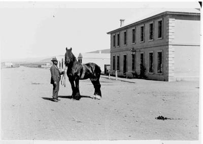Mr Hill of Otiake, taken at Kurow 1898