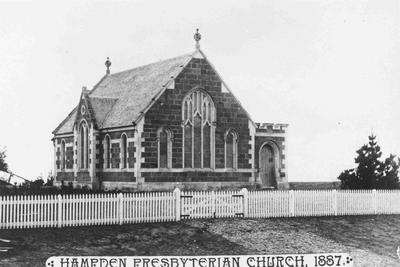 Hampden Presbyterian Church, North Otago