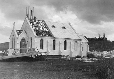Duntroon Presbyterian Church construction