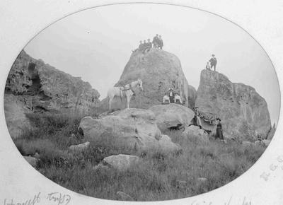 White Rocks, Duntroon 3 January 1903