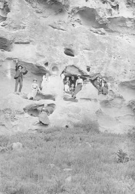 White rocks, Duntroon 3 January 1903