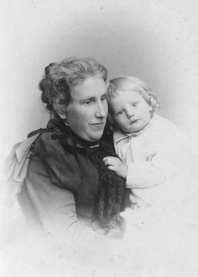 Mrs John Macpherson and child