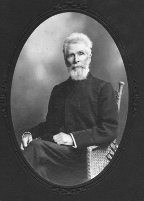 Frederick Bicknell. Oamaru Postmaster, 1864- 1881; 3888P