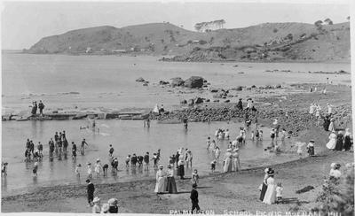 Palmerston School Picnic, Moeraki 1911