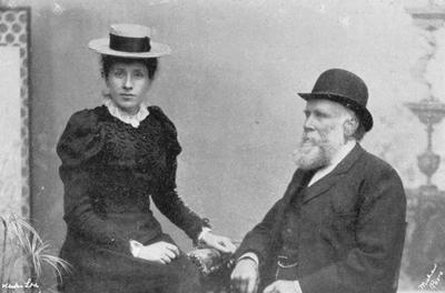 John Hodgson and daughter