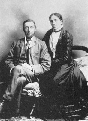 Mr & Mrs George Stringer, Kurow