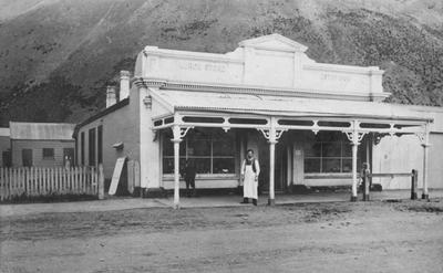 Kurow Store circa 1912