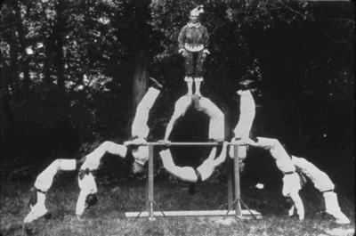 Gymnastic team at Duntroon