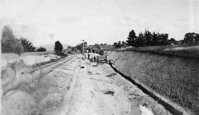 Railway gangers, Hampden
