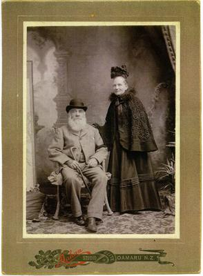 Robert and Annie West, Oamaru.