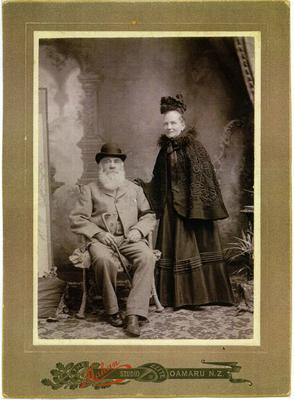 Robert and Annie West, Oamaru.