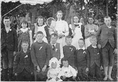 Hampden School class
