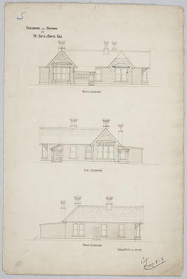 Residence near Ngapara for W Seth-Smith Esq; Forrester, John Megget (b.1865, d.1965); FG1984.553.1