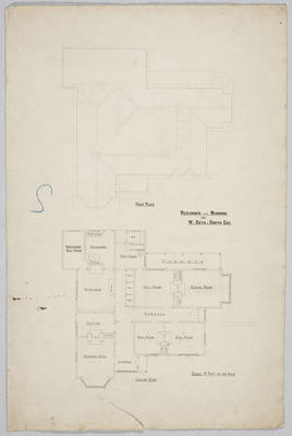 Residence near Ngapara for W Seth-Smith Esq; Forrester, John Megget (b.1865, d.1965); FG1984.554.1