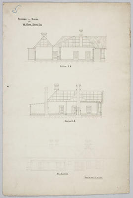 Residence near Ngapara for W Seth-Smith Esq; Forrester, John Megget (b.1865, d.1965); FG1984.555.1