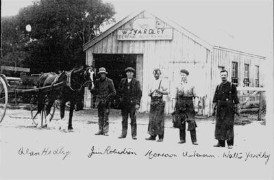 Yardley's blacksmith's premises, Duntroon