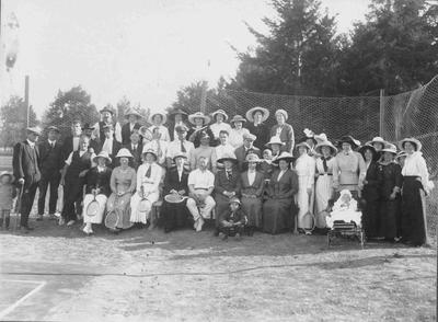 Group Photograph, Hampden Tennis Club