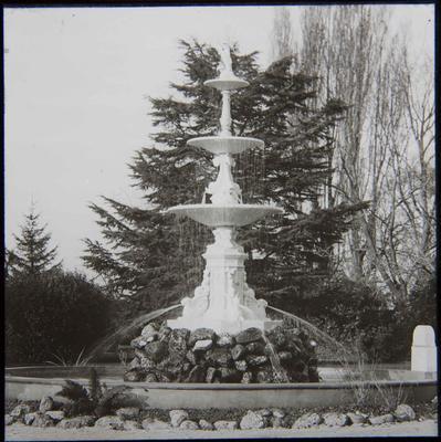 Craig Fountain, Oamaru Public Gardens