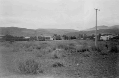 Rural view, possibly Kurow or Hakataramea