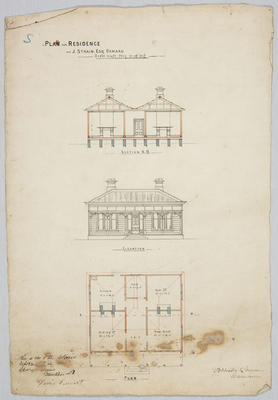 Plan of residence for J.