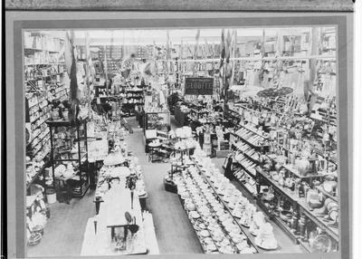 Burton's, Interior View, Thames Street