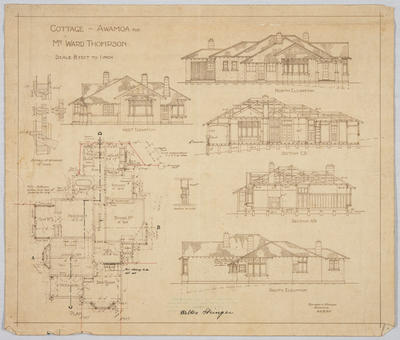 Cottage - Awamoa for Mr Ward Thompson