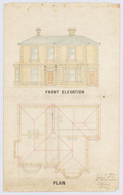Untitled - Front Elevation & Plan