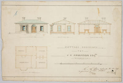Cottage Residence for J.K Anderson Esq