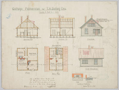 Cottage Palmerston for T.A. Bailey Esq