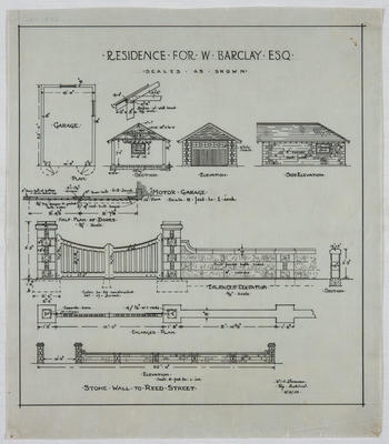 Residence for W. Barclay Esq