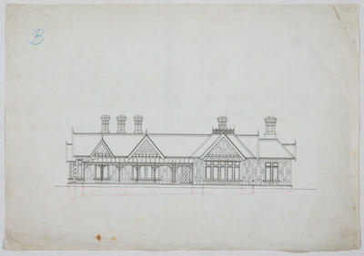 Untitled [Residence Oamaru for J Bulleid Esq]
