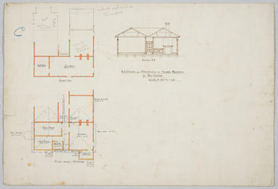 Additions and Alterations to house, Ngapara, for Mrs Conlan