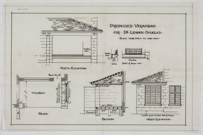 Proposed Verandah for Dr Lennox Douglas