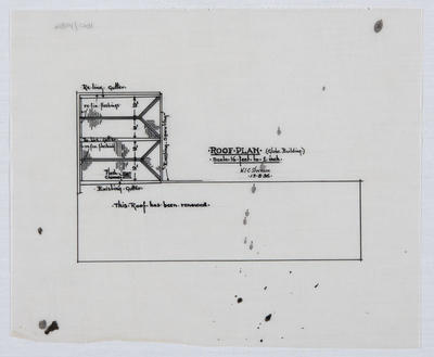 Roof Plan (Globe Building)