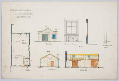 Proposed Shoeing Forge, Coquet St for Mr J Hair