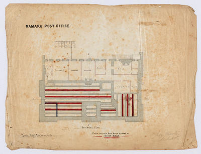 Oamaru Post Office - Basement Plan