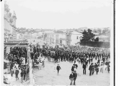 Procession for visit of Governor-General, Lord Ranfurly