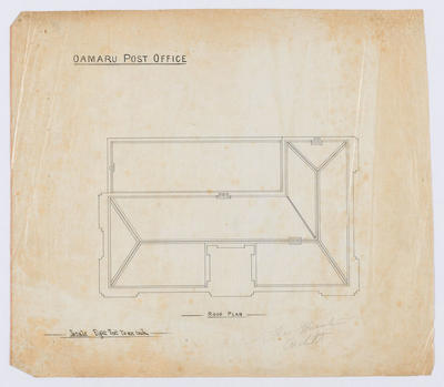 Oamaru Post Office - Roof Plan