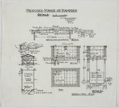 Proposed Manse at Hampden