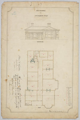 Residence for J R Elder Esq