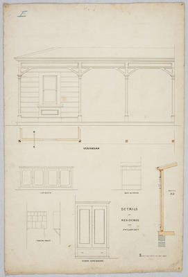 Details of Residence for J R Elder Esq
