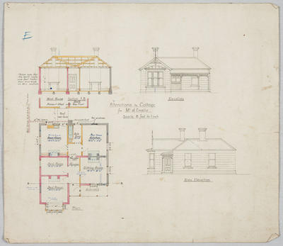 Alterations to Cottage for Mr J Emslie