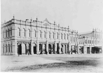 Queen's Hotel, about 1900