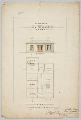 Residence for W J Filleul Esq Oamaru