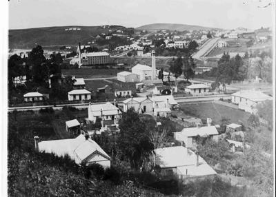 View facing south east Oamaru